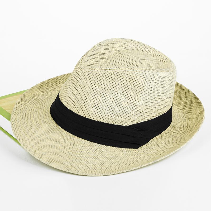 58cm песчаный пляж на открытом воздухе шляпа мужской соломенная шляпа любители затенение крышка солнцезащитный крем большой прилегает к сэр крышка модельа цилиндр