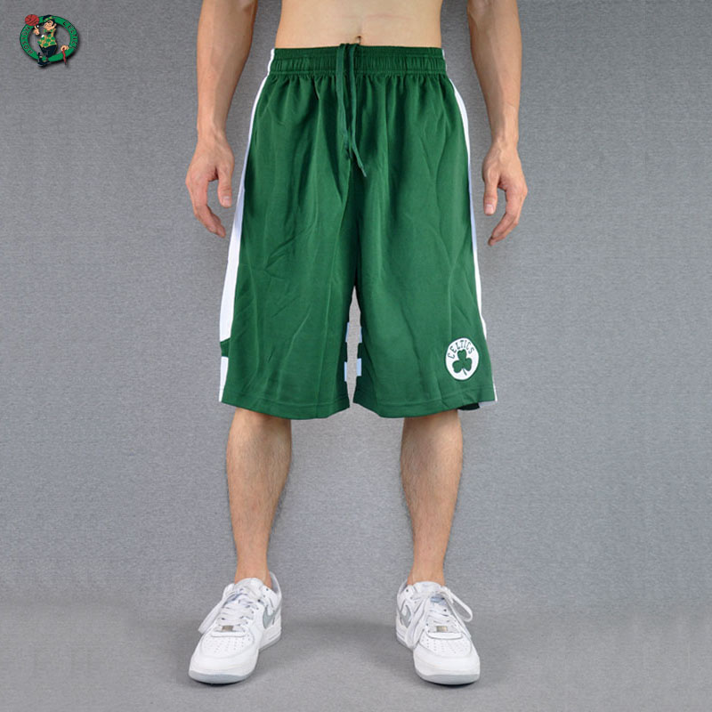 Summer mens Basketball Shorts Celtic loose casual mens thin breathable running training Capris