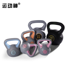 Sports god kettle bell authentic pot of dumbbell Gym high-grade color jinsu kettle bell barbell more specifications