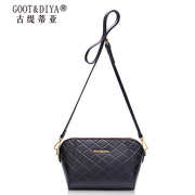 Gu Ti di Asian women bags leather small bag 2015 winter wave rhombic fashion shell baodan shoulder Messenger bag