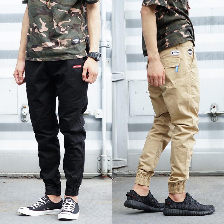 Уличная мода мужчины в Европе и оригинального хип-хоп мертвым простой вышивка пролетел скейтборд расслоение их ноги штаны брюки брюки