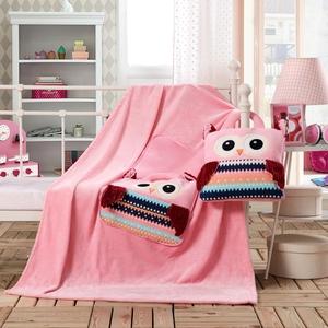 诺俪抱枕被子两用毛毯卡通汽车办公室靠垫靠枕腰靠午休毯