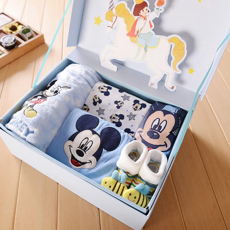【天天特价】满月礼盒宝宝婴儿礼盒新生儿满月服装用品礼盒爆款