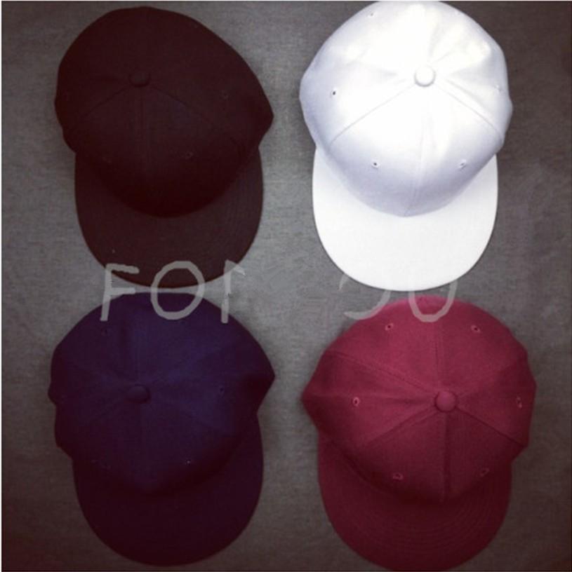 嘻哈帽韓國ulzzang複古純色棒球帽平沿帽男女光板帽hiphop百搭