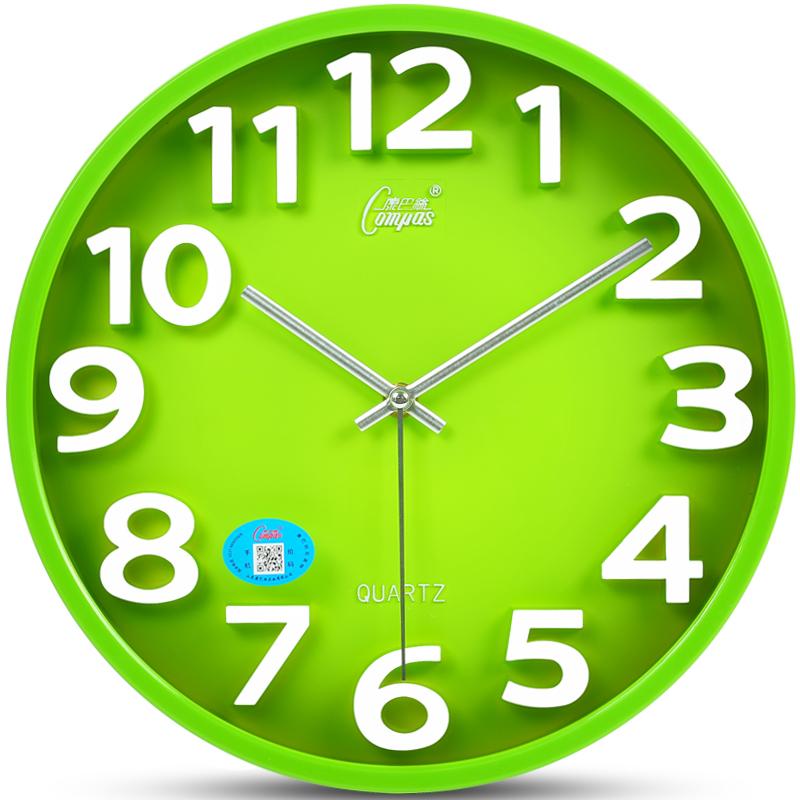 Мир пакистан провод 14 дюймовый немой настенные часы гостиная трехмерный творческий часы вешать стол кварц колокол мода современный часы
