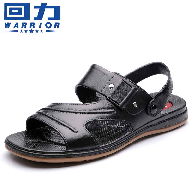 回力凉鞋男式新款休闲沙滩鞋男士凉鞋夏季防水防滑软底爸爸凉鞋男