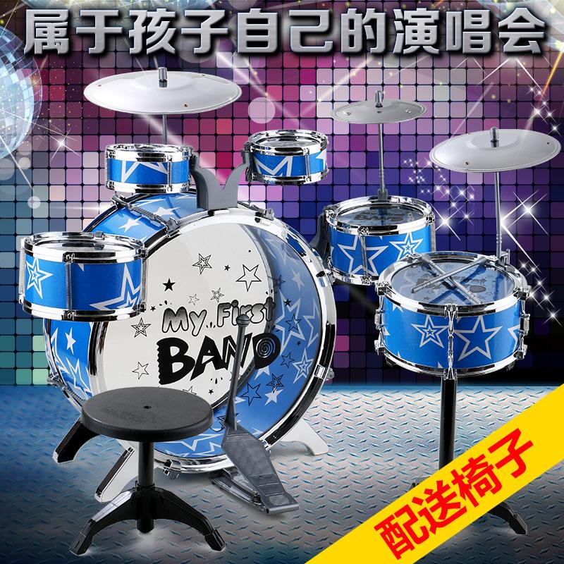 兒童架子鼓玩具 模擬爵士鼓音樂打擊樂器鼓早教益智男孩禮物3-6歲