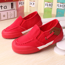 Fly yao a leather shoes of new fund of 2015 autumn low canvas shoes for boys girls sandals set foot single shoes sneakers