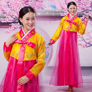 Hot Specials 2014 Women s costume hanbok Dae Jang Geum Korean minority portrait studio stage costumes