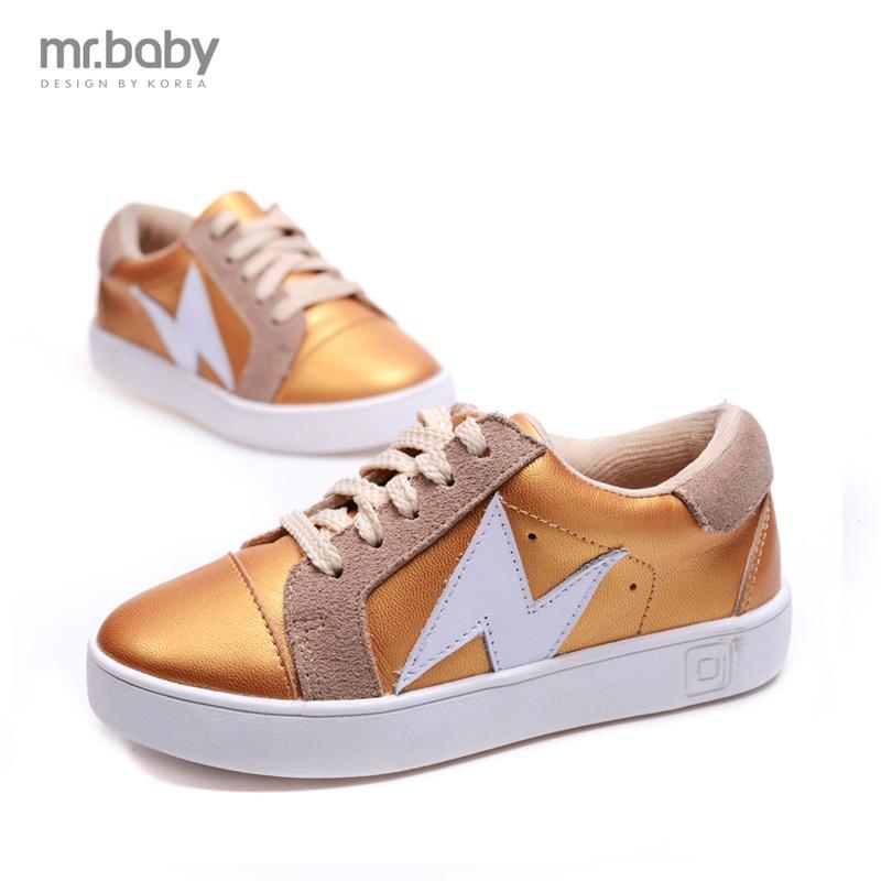 Mr.baby2016 Весна новой корейской версии Детская обувь Детская обувь кожаная спортивная обувь и обувь для отдыха являются весенние и осенние туфли