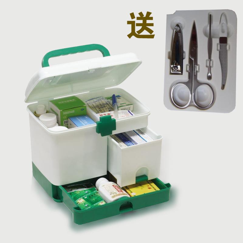Многослойные для электронной почты подлинной семейной медицины груди коробки хранения бен на товары для красоты и здоровья детей поставляет подарки