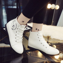 High fall 2015 new flats for women's shoes with sequins letter contact heighten casual shoes women's shoes