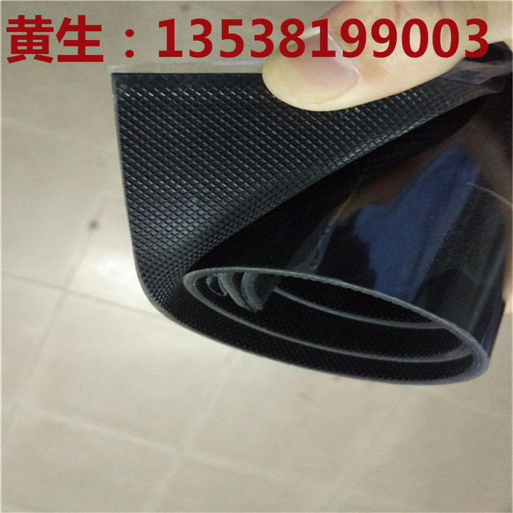 Square grid black frosted silicone rubber sheet silicone film surface rough rubber sheet single side smooth silicone rubber sheet
