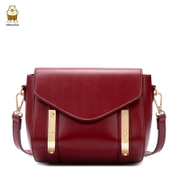 North mini bag Europe and slung the little bag 2016 new handbags fall/winter fashion casual simple diagonal wave