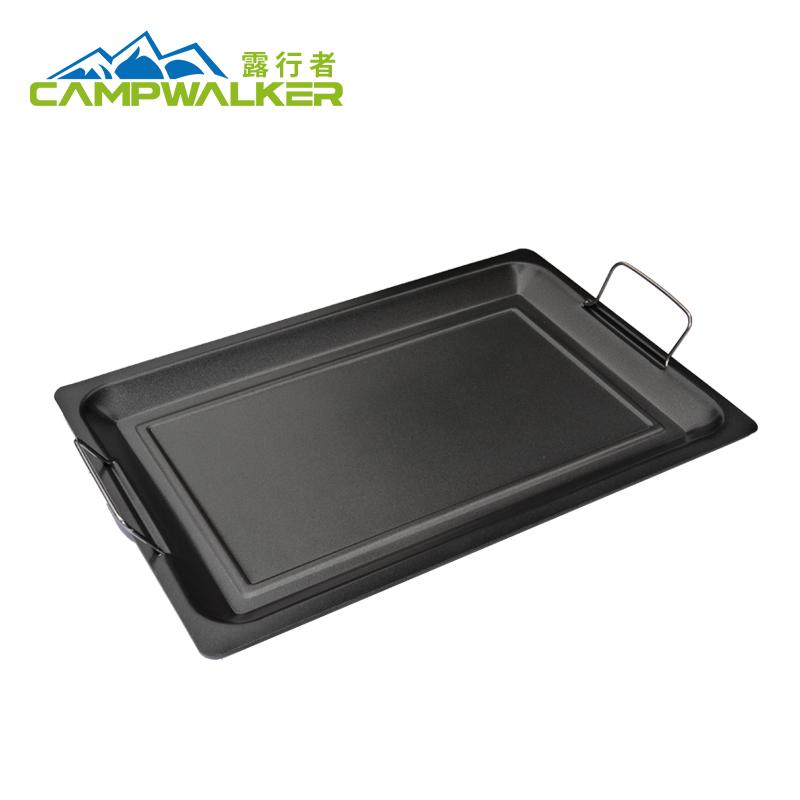 露行者 烤盤 木炭 煤氣 電磁爐 燒烤爐盤韓式煎盤不粘烤肉盤