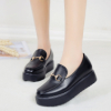 2017 Spring and Autumn new Korean version of platform shoes flat shoes flat shoes with a single set of non-slip foot lazy shoes student shoes