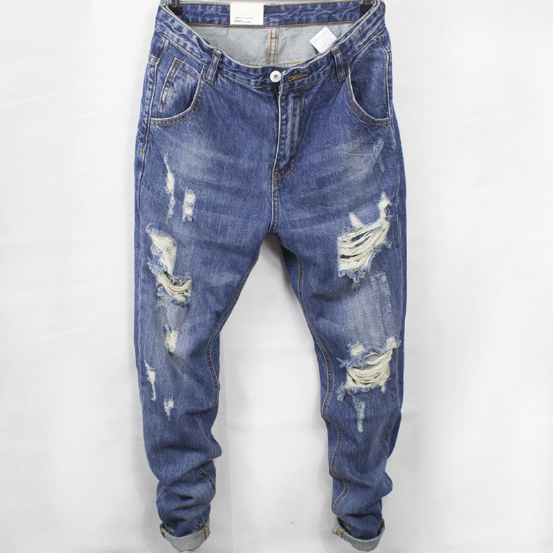 Mens baggy jeans in summer