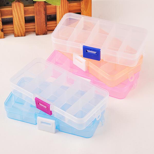 Taimi Style 10 сетка прозрачный пластик в коробку больше сетка серьги аксессуары шкатулка разбираться коробка