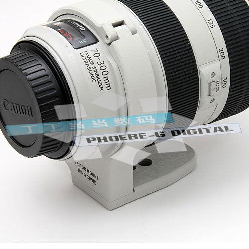 Применимый канон Canon EF 70-300mm f/4-5.6L IS USM жир белый объектив штатив кольцо