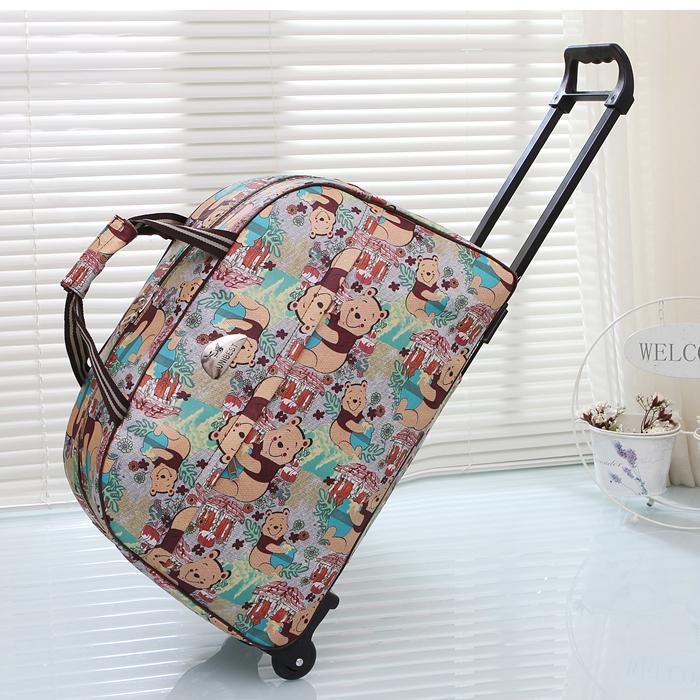 Род упаковки короткий способ сумка женщина портативный посадка путешествие пакет мужчина путешествие мешок большой потенциал багаж пакет