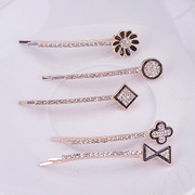 Good hair accessory fashion fashion jewelry rhinestone Butterfly clip fringe hair clip hairpin Korean hair jewelry
