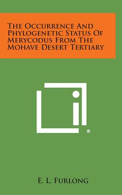 【预订】The Occurrence and Phylogenetic Status of Merycod...