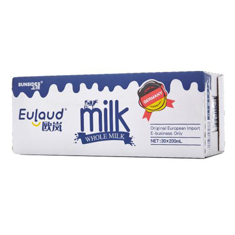 德國 SUNSIDES上質歐嵐全脂純牛奶200ml^~30盒