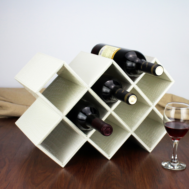 Корея однако вино полка мода творческий сетка украшение континентальный вино декоративный ремесла статья вино полка деревянный