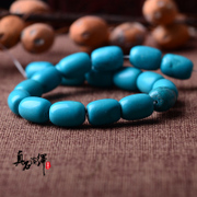 Optimized bead to bead waist beads turquoise Shi Sanzhu barrel drum every bead bead bracelets chains equipped with bead dingzhu Puti accessories