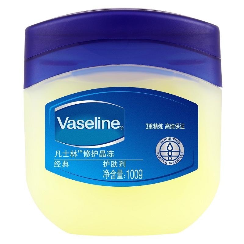 Vaseline 凡士林 修護晶凍100g 美國