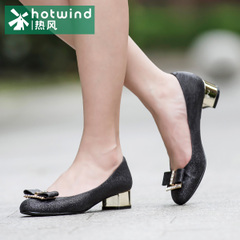Hot shoes-fall 2015 the new bow shoes in women with light crude with dress shoes women 61H5796