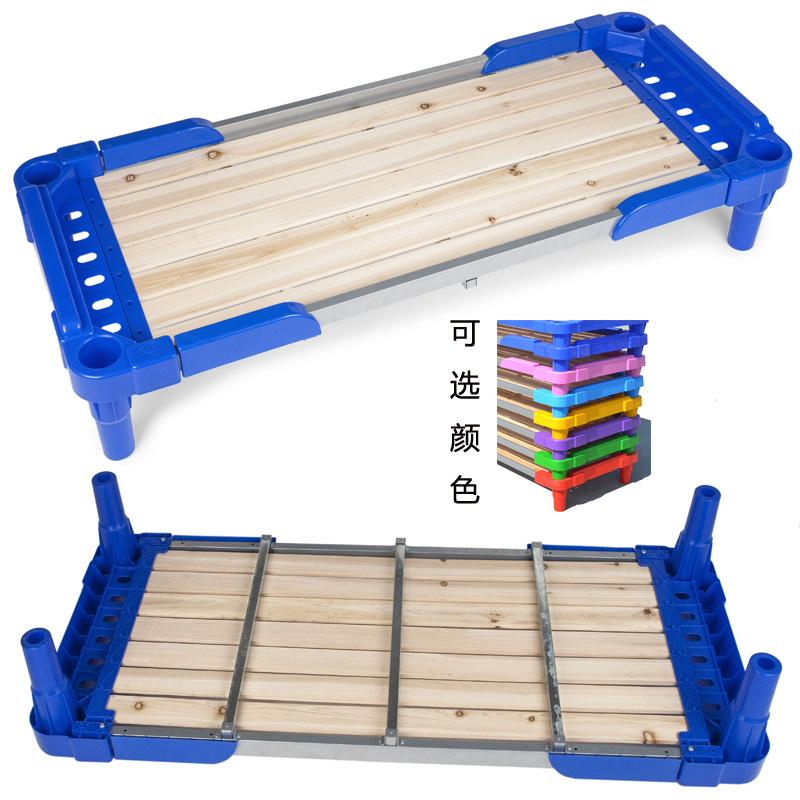 Детский сад пластик доска кровать младенец кровать вздремнуть кровать полдень остальные кровать ребенок деревянные кровати разборка суперпозиция улучшение пластик кровать