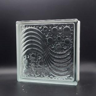 晶华牌 空心玻璃砖 厂家直销 工艺装饰品 家居建材 大型水波纹