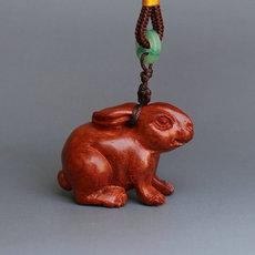 Деревянная резная фигурка Han Jiuding xyzttz