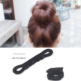 Korean Variety Hair Art Colorful cloth hair balls hair rod pattern plate rod plate hair ornaments withheld