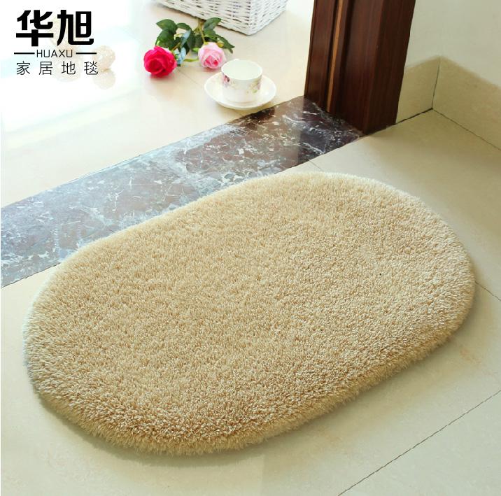 Сюй Хуа pratunam pad номер фойе коврик анти-скольжения коврик циновка ванны овальный коврик раздвижные кровати