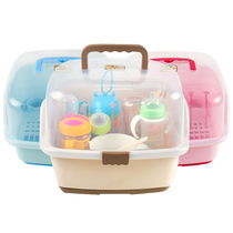 Bottle Collecting Tableware Dishes Dry Dust Cassette Cover Infant Baby Storage Products Clothes Rack