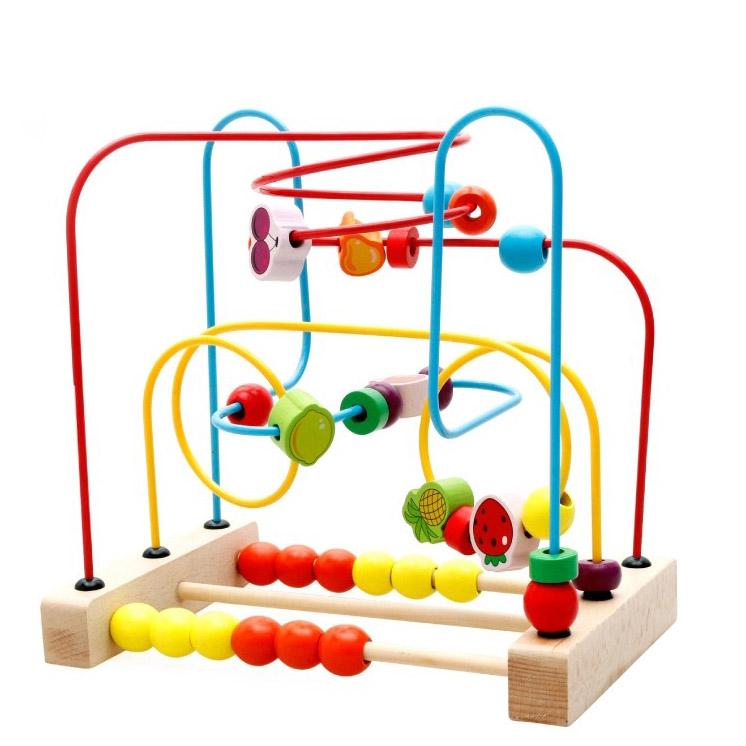 Королева Детские обои вокруг шарика из бисера 1-2-3 детей в образовательные игрушки Образовательные Игрушки для мальчиков и девочек трейлер