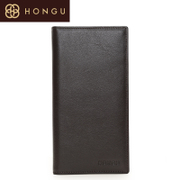 Honggu red Valley fall/winter top layer leather 2015 new men's wallets 6001