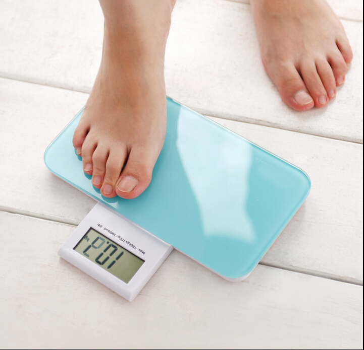 特价称迷你电子称人体秤便携式体重计 家用健康秤体重秤包邮