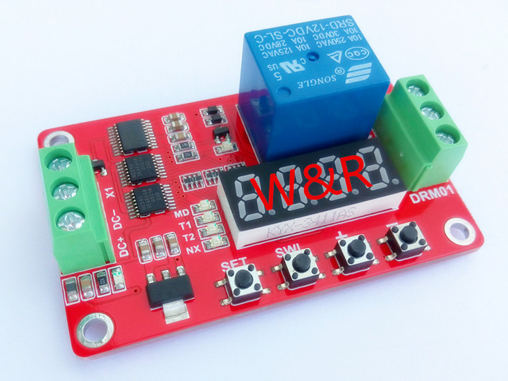DRM01/multi-функция реле модуль/блокировка/задержка/реле/таймер/время/цикл