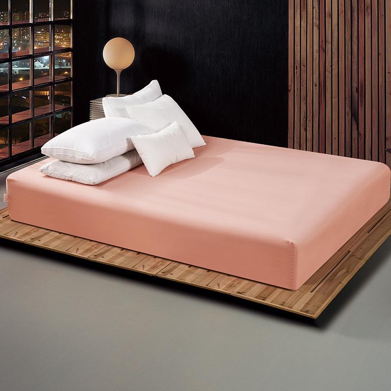 通棉家紡磨毛純色床笠床罩單件床墊套席夢思保護套罩防滑床套