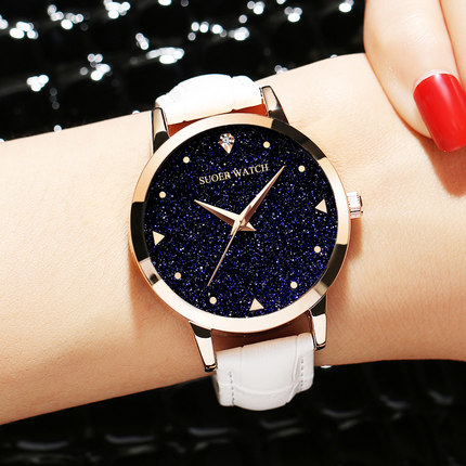 Ladies Watch Waterproof Fashion 2017 New Trend Students Korean Version Simple Leisure Female Watch ulzzang