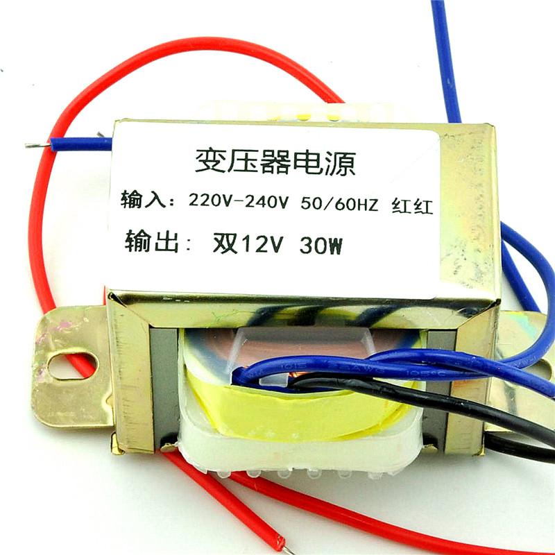 Помощник поле |30W2*12V 30W двойной 12V источник питания трансформатор вводить 220V 50Hz/ экспорт двойной 12V