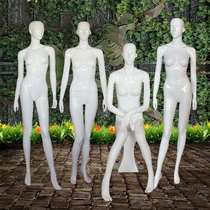 Fashion womens clothing display prop bright white mannequin combination full body swimsuit underwear Korean version