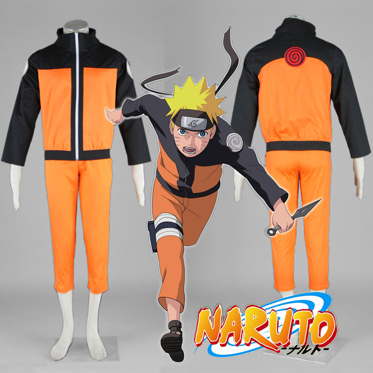Naruto Naruto Naruto second generation cos clothing fast wind transmission full Cosplay suit in stock