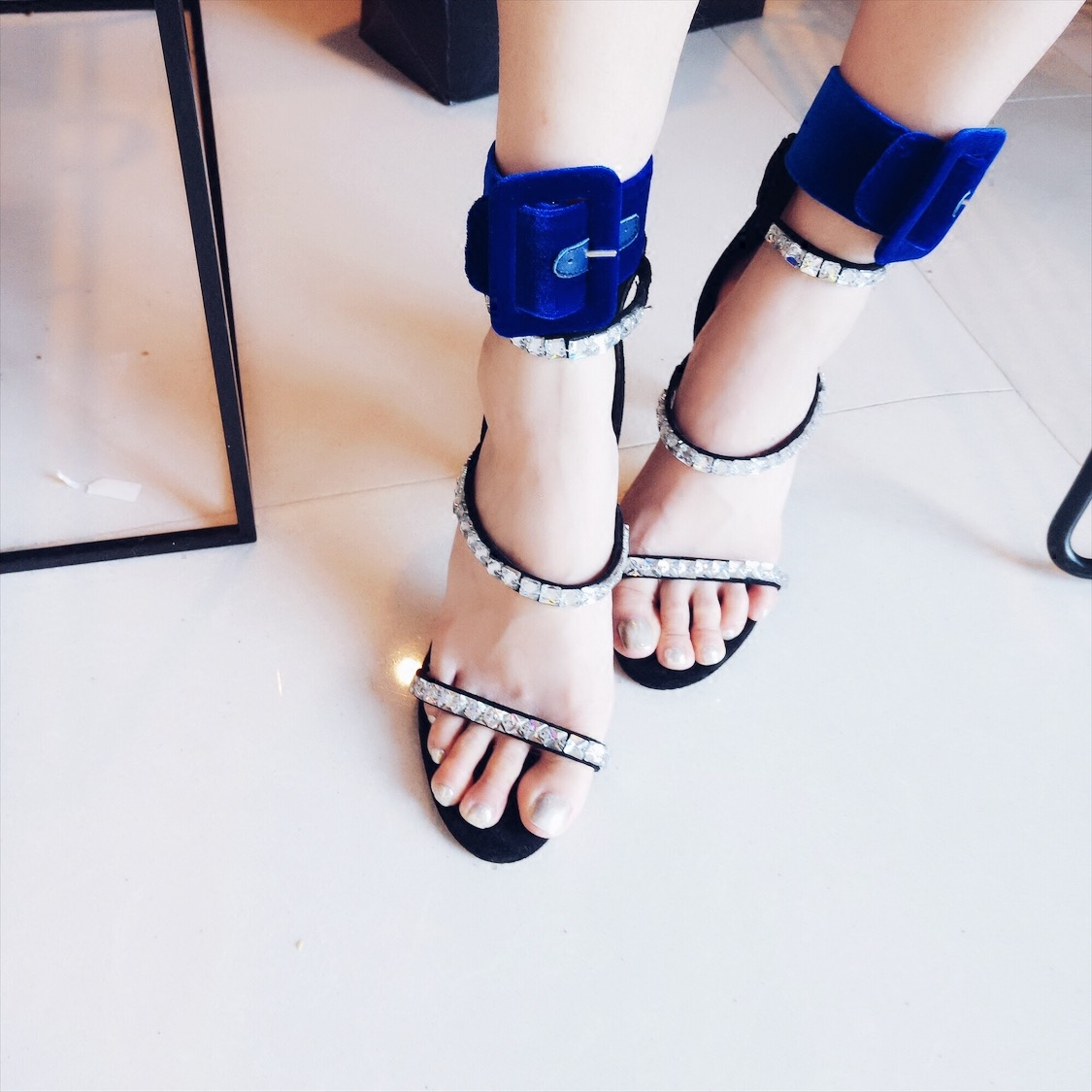 Ys ~ 2017 summer new product trend buckle foot ring European and American Attico show style anklets and anklets women