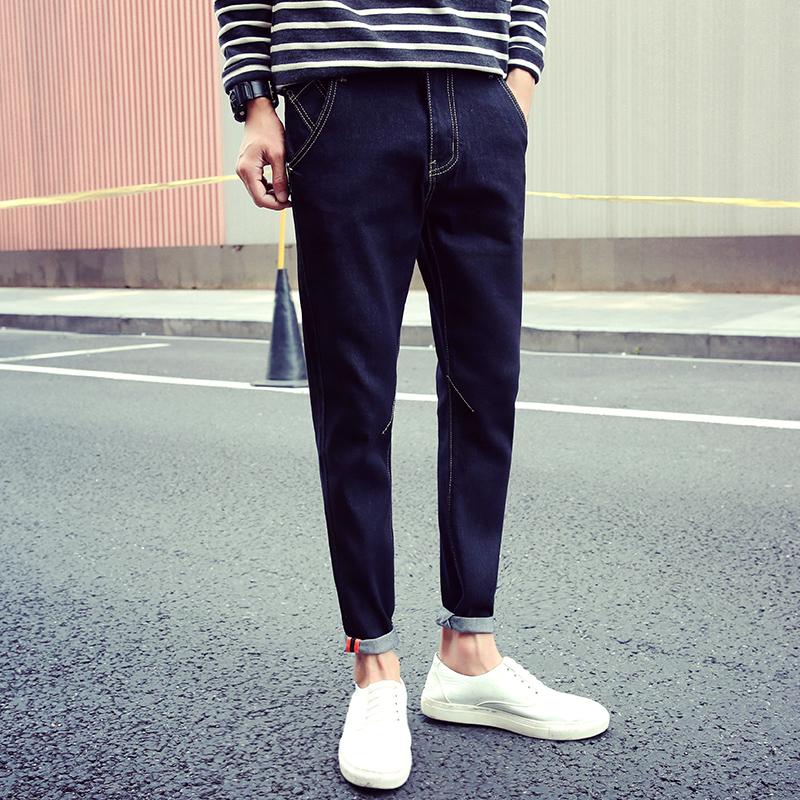小腳修身型男士彈力小腳褲