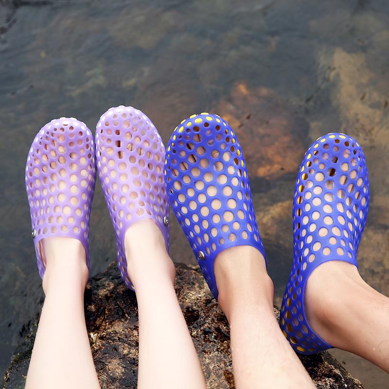 夏季沙滩情侣鞋小码33 34码沙滩鞋热销2件手慢无