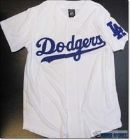 Собирать точка тайвань покупка высокакачественных товаров из специализированного магазина MLB река лошуй китайский ель мол увернуться команда LA белый бейсбол джерси